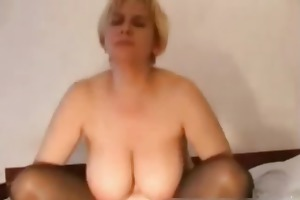 mother of volunteers for threesome part1