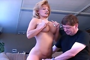 breasty excited mommy craves to receive naughty
