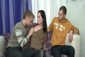 teen deep mouth oral
