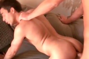 brothers sexy boyfriend receives cock sucked part4