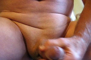65 yr old grand-dad cumming #1
