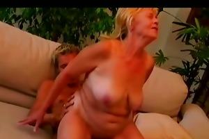 juvenile stud fucking obese messy granny