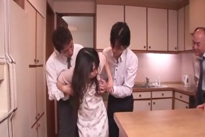 chihiro kitagawa handles many dicks without