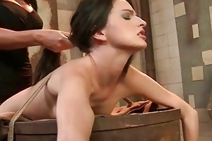 dominant-bitch dominates young villein gal