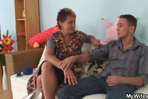 ramrod hungry mother in law receives busted riding