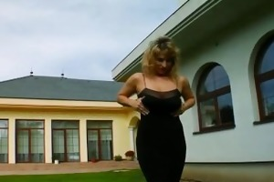 milf thing big titted d like to fuck takes on two