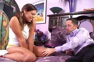 mom plays with her daughter and bf bawdy games -