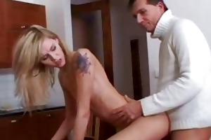 old coot fucks hot blonde