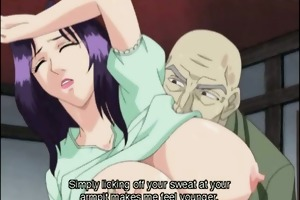 japanese anime mamma with giant jugs receives