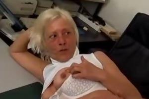 close up granny tittyfuck