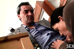 sexual spooning with teacher