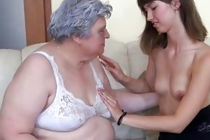 very overweight granma like a young hotty