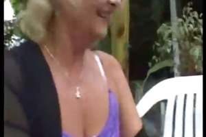 beauty mommy and not her son outdoor