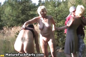 group of horny old mom having sex part1