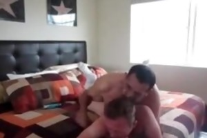 bearded daddy fucks his lover part2
