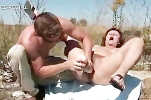sexually excited milf receives her hairy muf