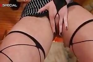 amazing pierced pussy milf engulfing part6