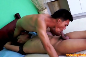 gay juvenile twinks from asia engulfing cock