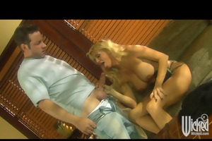 hawt big-tit blonde ex-girlfriend cheats with her