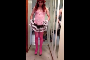 sissy vickie for dad nick wyld