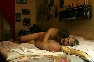 submissive juvenile girl having sex with old guy !
