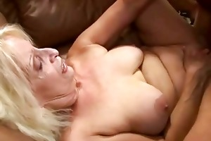 bigtits granny getting screwed by her old lover