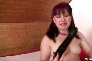 mother in law rides his cock and gets busted