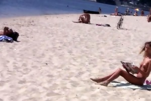 fantastic young nudists touch every others bodies