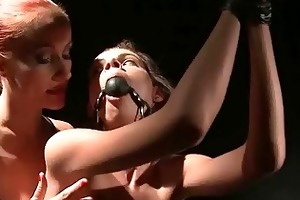 mighty dominant-bitch punishing young sex villein