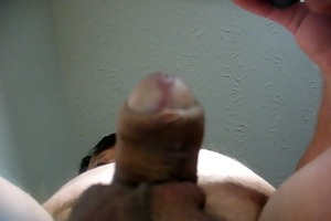 68 yrold older man #139 mature cum close closeup