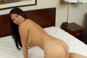 sexy oriental college honey toy anal sex