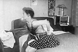 authentic vintage porn 1950s bald pussy, voyeur