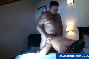 hung dad bear fucking a fellow