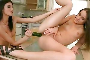 beautiful juvenile blondes enjoying hawt sex