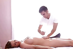 sexy erotic massage for one young bigtits angel