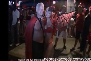 amateur video from key west fantasy fest