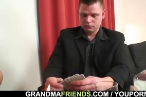 disrobe poker leads to hard threesome