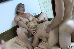 smutty old women gets fucked hard