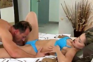 blond d like to fuck in underwear pussy licked