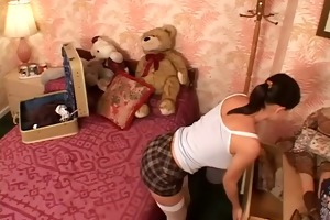 cute youthful babe screwed in her ass and