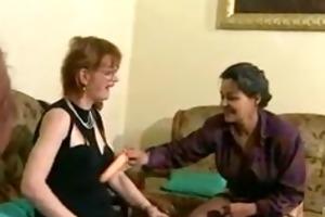 givin grandma the boner