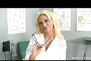 big-tit blond doxy milf doctor fucked hard by