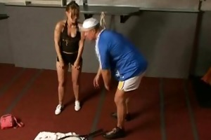 tennis lesson ended up with a hot hardcore sex