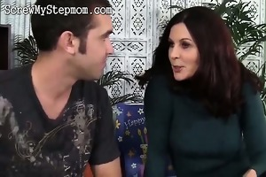 horny stepmom eager for younger cock
