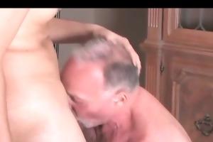daddy fucks chap