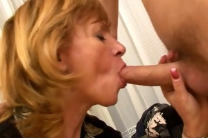 granny sucking juvenile cock and getting fucked