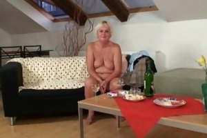 wicked oldie spreads legs for son-in-law