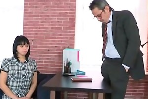 sonia wants to feel her teachers cum inside her