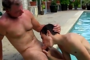 twink sex dad brett obliges of course, after