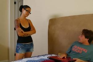 mommybb dana vespoli caughts her stepson jerking